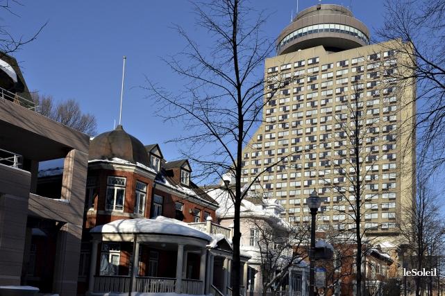 L'hôtel Le Concorde à Québec... (Photothèque Le Soleil, Patrice Laroche)