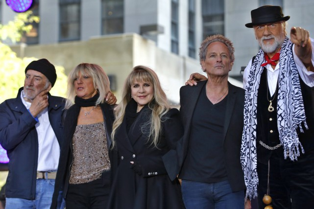 Le célèbre quinquette, formé de John McVie, Christiane... (Photo Mike Segar, Reuters)