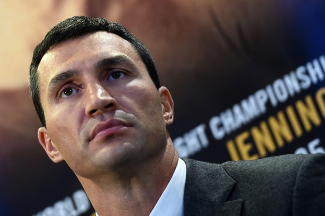 Vladimir Klitschko... (Photo: AFP)