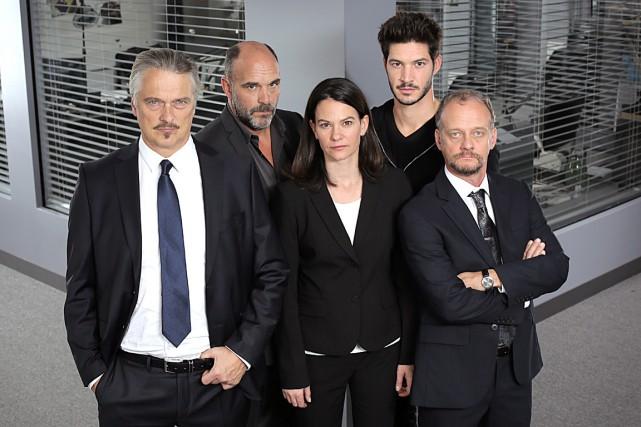 Normand D'Amour, Sylvain Marcel, Fanny Mallette, Éric Bruneau...