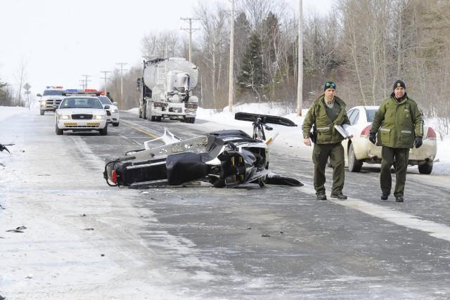 L'accident est survenu aux alentours de 10 h... ((Photo Gimmy Desbiens))