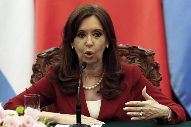 Cristina Kirchner... (Photo: Reuters)