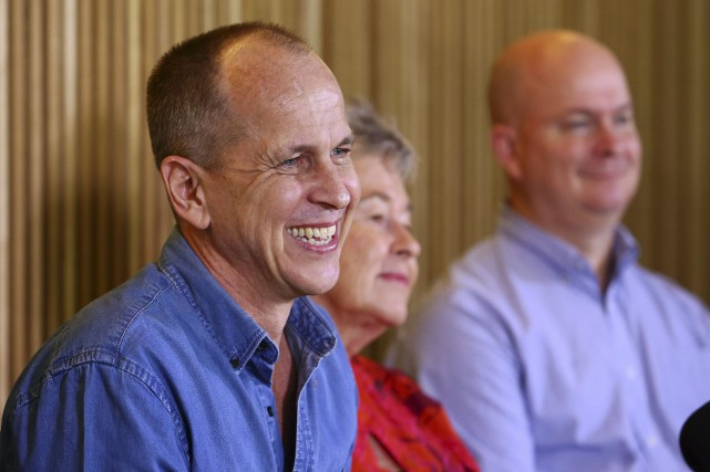 Le journaliste Peter Greste... (PHOTO TERTIUS PICKARD, AP)