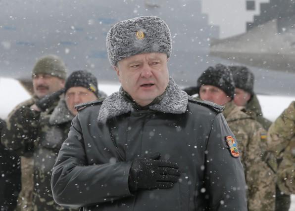 Mardi, le président ukrainien Petro Porochenko avait affirmé... (Photo Efrem Lukatsky, AP)