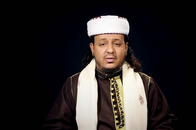 Hareth al-Nadhari, une autorité en matière de charia,... (IMAGE ARCHIVES AFP)