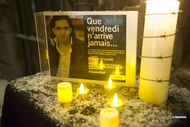 Raïf Badawi a été condamné à dix ans... (PHOTO STÉPHANE LESSARD, ARCHIVES LE NOUVELLISTE)