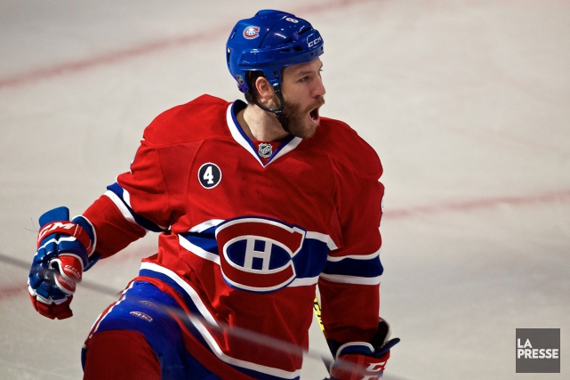 Brandon Prust... (Photo André Pichette, La Presse)