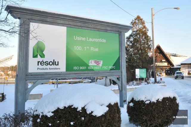 Produits forestiers Résolu possède ou exploite quelque 40... (Photo Émilie O'Connor, Le Nouvelliste)