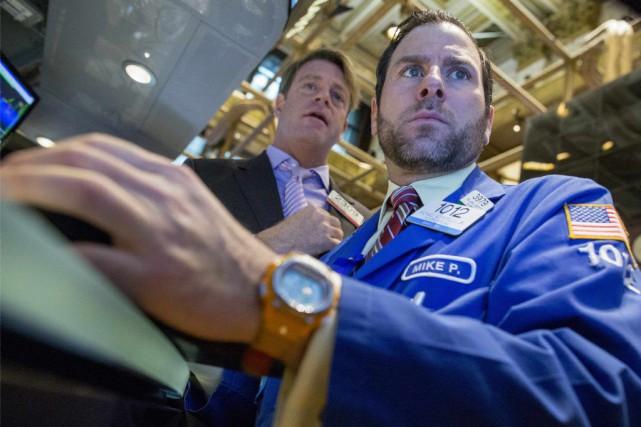 La Bourse «reste volatile, face aux variations brutales... (PHOTO BRENDAN MCDERMID, REUTERS)