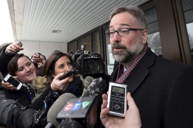 L'avocat de l'Ottavien Awso Peshdary, Me Richard Morris,... (Sean Kilpatrick, La Presse Canadienne)