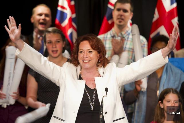 La députée provinciale de Nepean-Carleton et candidate à... (Martin Roy, Archives LeDroit)