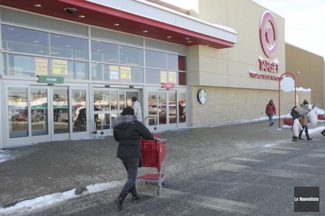 Target va fermer ses magasins canadiens un mois... (Photo: Sylvain Mayer, Le Nouvelliste)