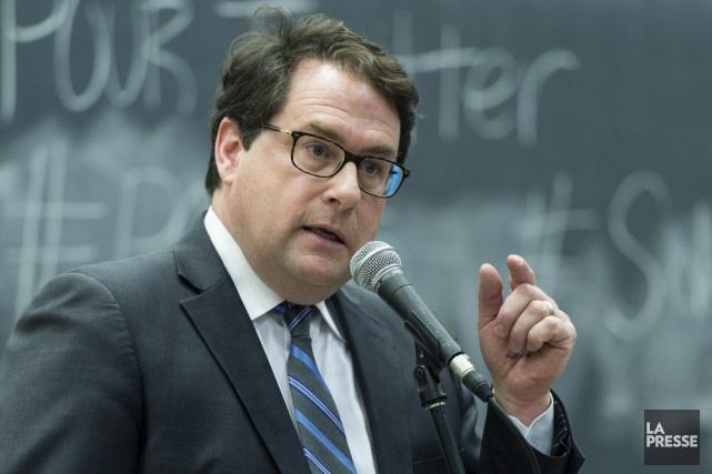 Bernard Drainville a rappelé que le Parti québécois... (Archives La Presse Canadienne)