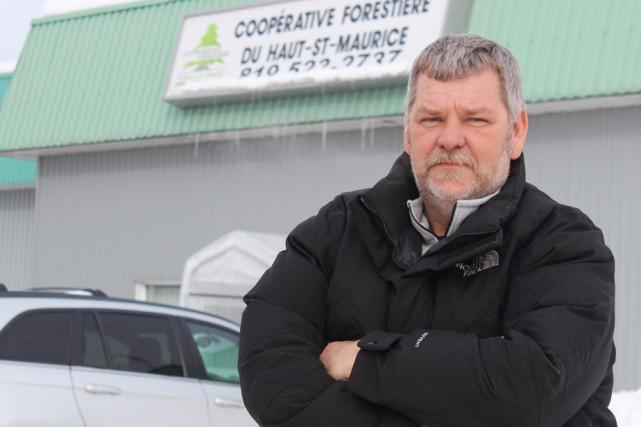 Claude Dupuis, directeur régional de la Coopérative forestière... (Photo: Le Nouvelliste)