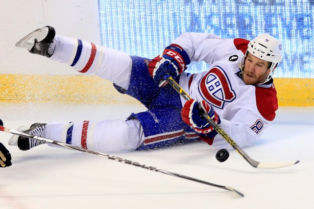 Brandon Prust... (Photo Robert Mayer, USA Today Sports)