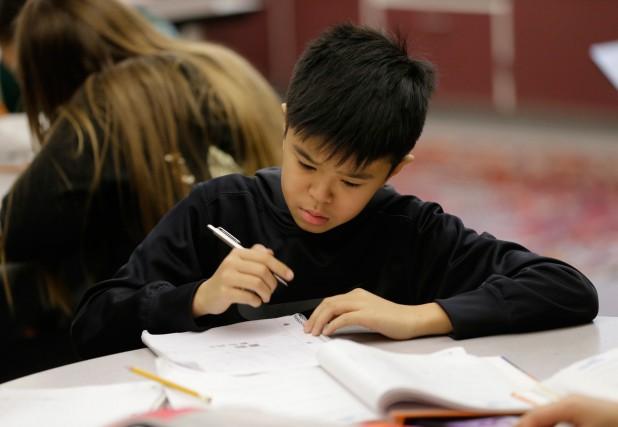 «La réforme scolaire de Pauline Marois a amené... (PHOTO TED S. WARREN, ARCHIVES ASSOCIATED PRESS)