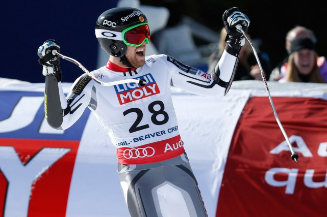 Le skieur alpin du Lac-Sainte-Marie Dustin Cook est... (Jeff Swinger, Archives USA Today Sports)