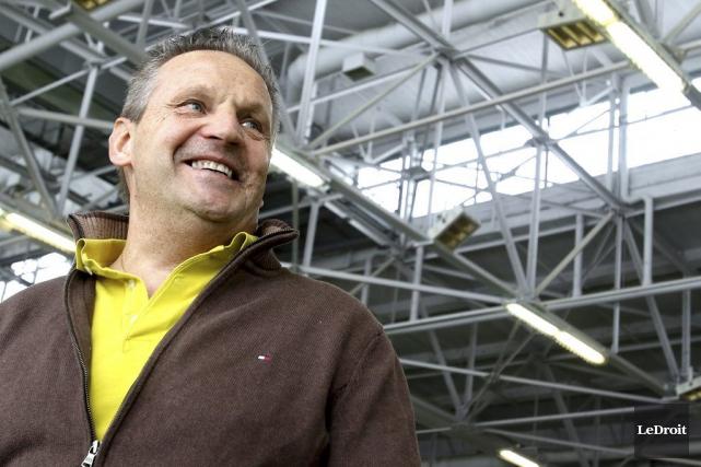 Le Français Bruno Locatelli voulait rentrer chez lui... (Patrick Woodbury, LeDroit)