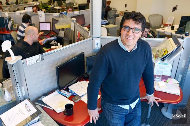Omar Bennis, vice-président du bureau de Québec, affirme... (Photo Le Soleil, Yan Doublet)