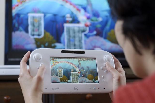 Nintendo, qui a encore vu ses ventes chuter... (Photo Akio Kon, Archives Bloomberg)