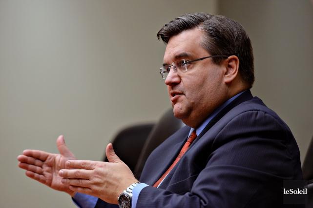 Le maire de Montréal, Denis Coderre... (Photo Patrice Laroche, Le Soleil)
