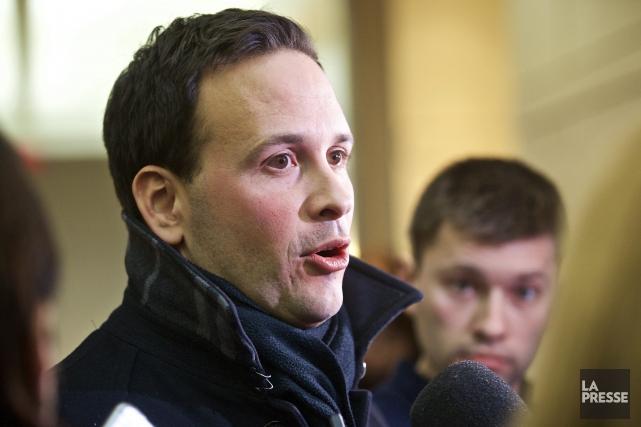 Le député de Lac-Saint-Jean, Alexandre Cloutier, peut compter... ((Photo André Pichette, La Presse))