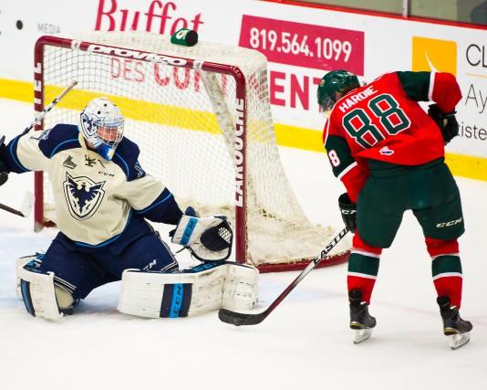 La séquence de cinq victoires du Phoenix a pris fin abruptement jeudi soir à... (Photo fournie, Phoenix de Sherbrooke)