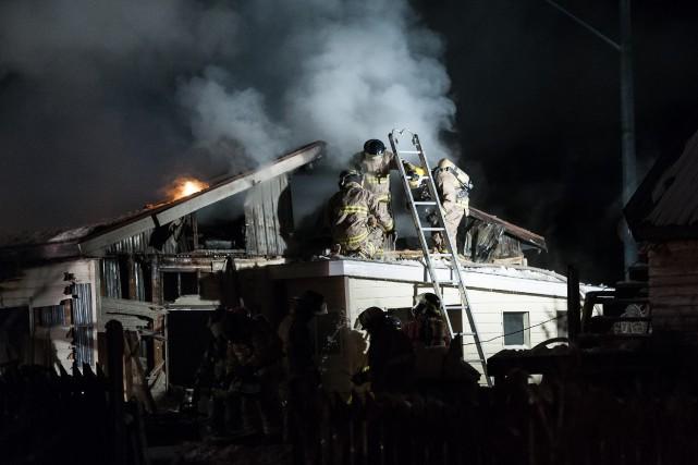 Un incendie a forcé la fermeture de la... ((Photo Frédéric Cantin))