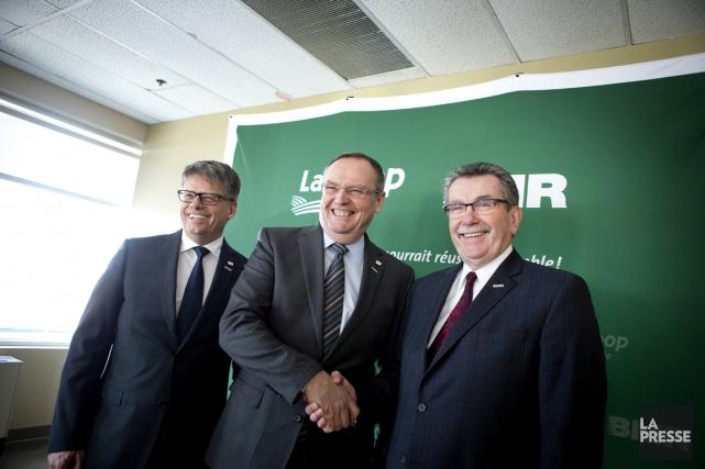 Gaétan Desroches, chef de la direction de La... (Photo Marco Campanozzi, La Presse)