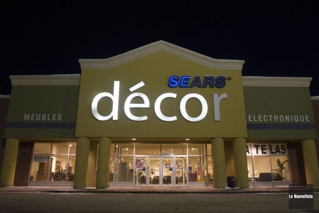 Le Sears Décor de Trois-Rivières fermera ses portes.... (Photo: Stéphane Lessard, Le Nouvelliste)