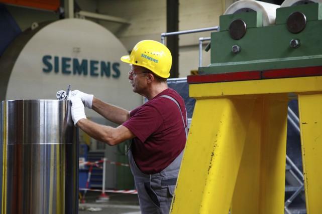 Au Canada, Siemens compte plus de 4500 employés.... (PHOTO ARCHIVES BLOOMBERG)