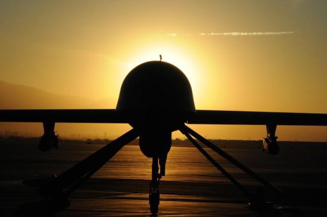 Depuis 2004, au moins 500 frappes de drones... (PHOTO FOURNIE PAR LA US AIR FORCE)
