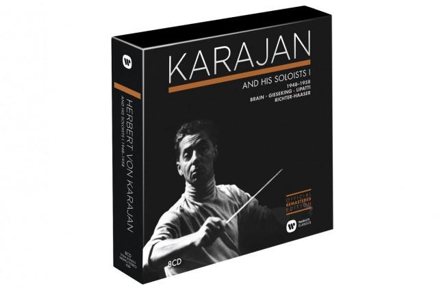 Warner Classics consacre huit coffrets à Karajan, chef-vedette du prestigieux...