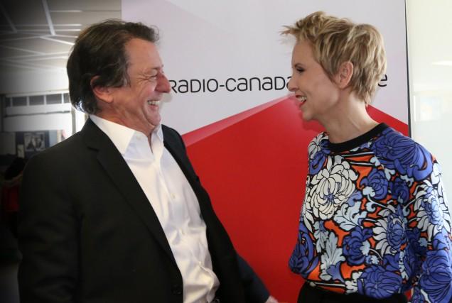 Jean-Luc Mongrain et Pénélope McQuade animeront cet été... (Photo fournie par Radio-Canada)