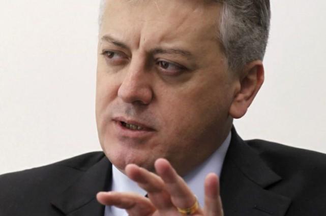 Aldemir Bendine... (Photo Reuters)