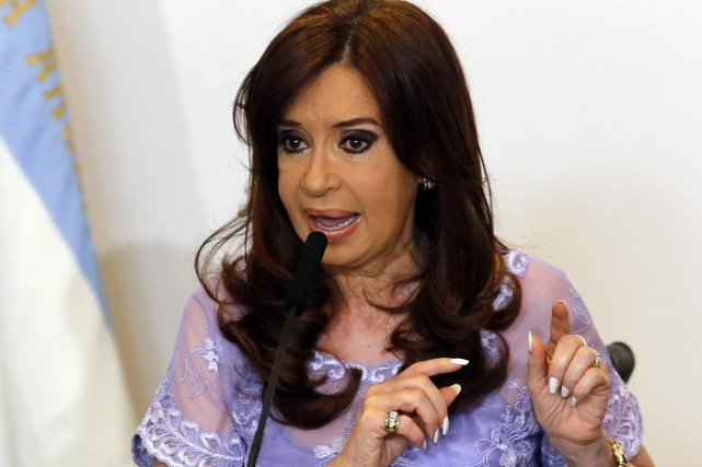 La présidente argentine Cristina Kirchner.... (PHOTO ENRIQUE MARCARIAN, ARCHIVES REUTERS)