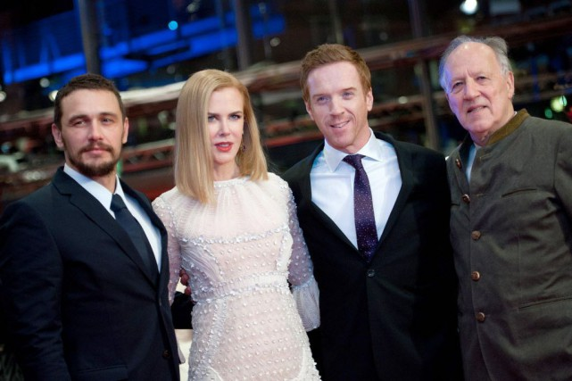 James Franco, Nicole Kidman, Damian Lewis et le... (Photo Stefanie Loos, Reuters)