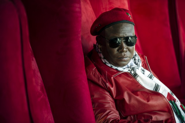 Malema, un ancien de l'ANC âgé de 33... (PHOTO MUJAHID SAFODIEN, ARCHIVES AFP)