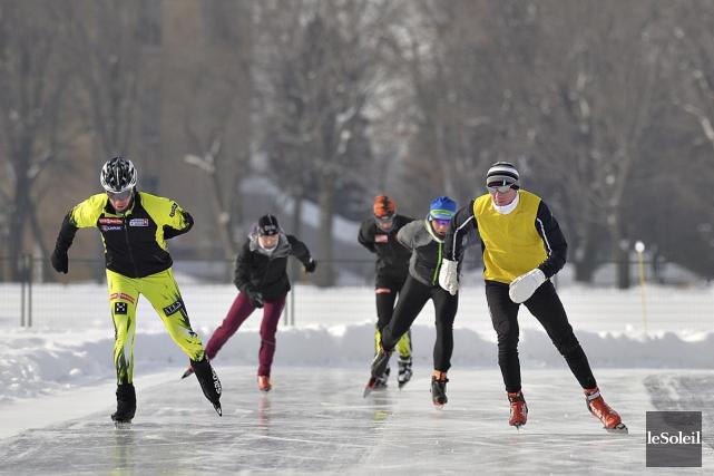 La deuxième épreuve de triathlon d'hiver nouveau genre... (Le Soleil, Patrice Laroche)