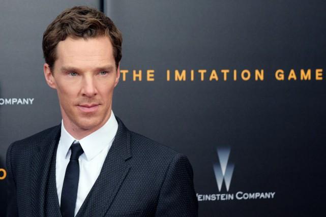 Benedict Cumberbatch espère que d'éventuelles récompenses permettront de... (PHOTO JEWEL SAMAD, AFP)