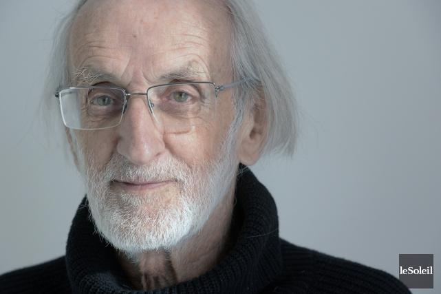 Pour son 14e roman, Jacques Poulin s'est inspiré... (Photo Jean-Marie Villeneuve, Le Soleil)