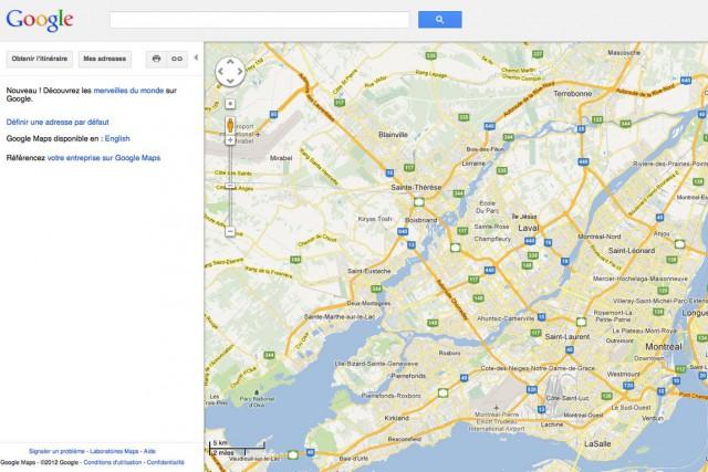 Google veut récompenser les «guides locaux» les plus... (Photo Google Maps)