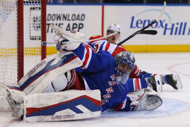 Henrik Lundqvist... (Photo Adam Hunger, USA Today)