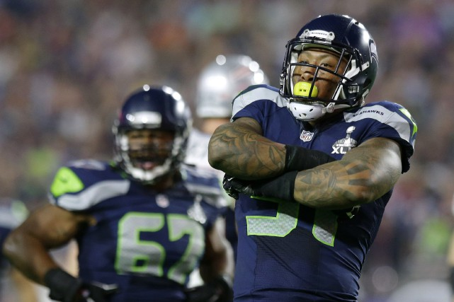 Bruce Irvin... (Photo Michael Conroy, AP)
