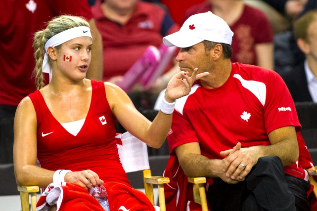 Avec son charisme et son talent, Eugenie Bouchard... (Photo fournie par Tennis Canada)