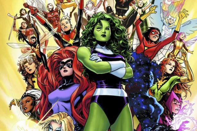 Le nouvel album fera apparaître certaines héroïnes déjà... (Photo AP/Marvel Comics)