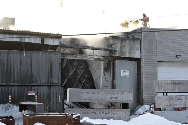 L'explosion survenue chez Sotrem-Maltech aurait été causée par... (Photo Rocket Lavoie)