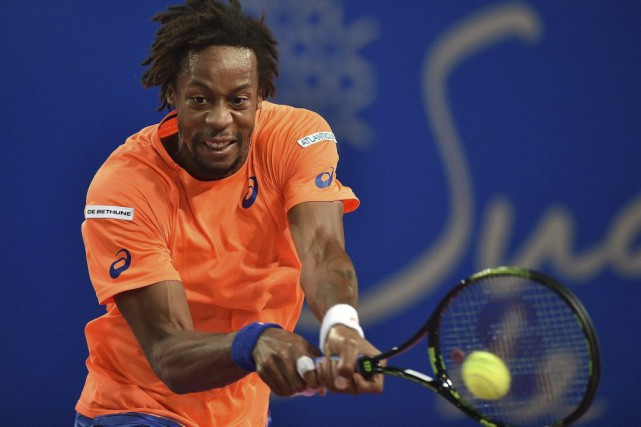 Gaël Monfils... (PHOTO PASCAL GUYOT, AFP)