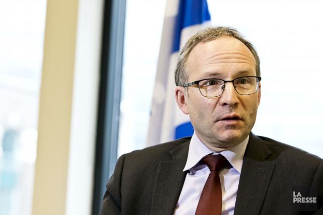 Le président du Conseil du trésor, Martin Coiteux.... (PHOTO HUGO-SEBASTIEN AUBERT, LA PRESSE)