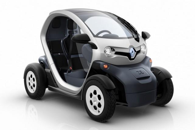 La Renault Twizy est un véhicule biplace, décliné... (Photo fournie par Renault)